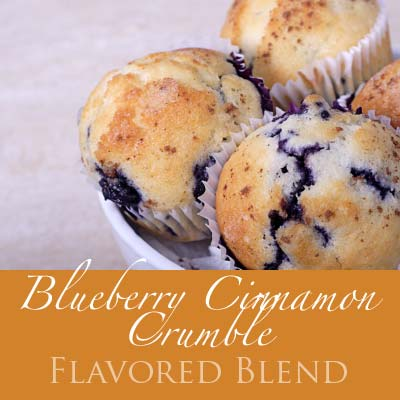 Blueberry Cinnamon Crumble Coffee