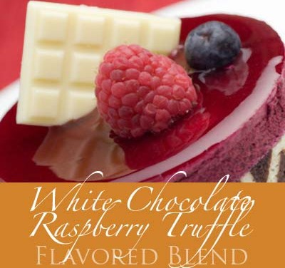 White Chocolate Raspberry Truffle Coffee