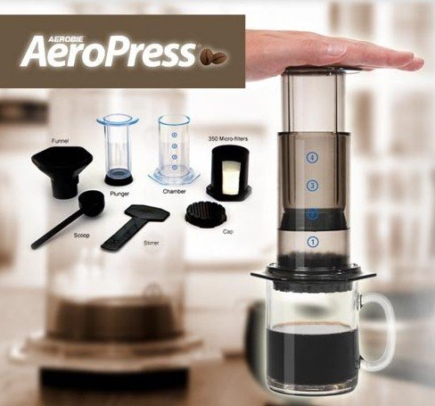 Aeropress Coffee Espresso Maker Instructions : AeroPress Coffee Maker