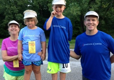 Team Jameson Coffee Takes Podium Spots at Local Race